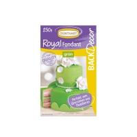 8 pcs Royal fondant, green