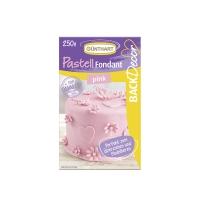 8 pcs Royal fondant, pink