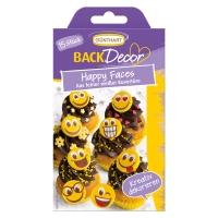 15 pcs Chocolate happy faces