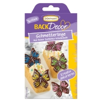 15 pcs Butterflies, dark chocolate