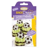 15 pcs Chocolate footballs