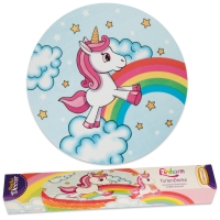 9 pcs Cake cover Unicorn