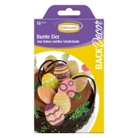 15 pcs Chocolate Easter eggs