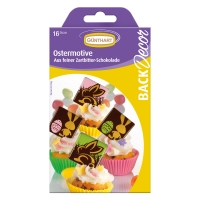 15 pcs Chocolate  Easter motives