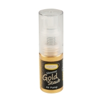 12 pcs Pump spray, glittering gold, food coloring