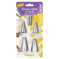 9 pcs Icing nozzle, stainless steel