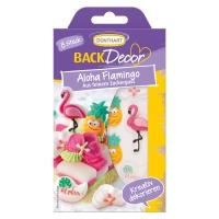 15 pcs Sugar set flamingos