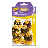 Chocolate happy faces