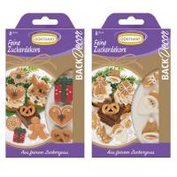 15 Sugar decorations, Christmas