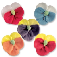 70 pcs Sugar pansies