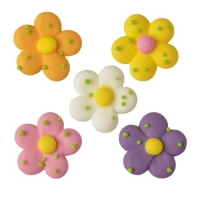 150 pcs Sugar flowers, large, assorted