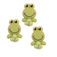 48 pcs Sugar frogs, flat