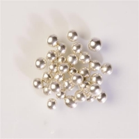 1 pcs Crunchy pearls, silver
