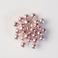 1 pcs Shiny pearls pink, soft core