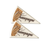 120 pcs Special Decorations  Champagne