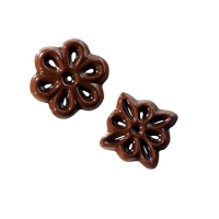 Chocolate filigrees, small