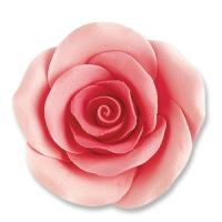 24 pcs Large roses, pink