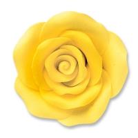 24 pcs Large roses, yellow