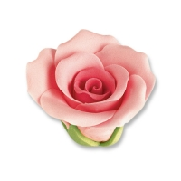 30 pcs Medium roses, pink
