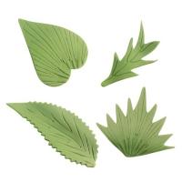 120 pcs Fine sugar leaves, assorted