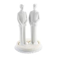 3 pcs Porcelain top  Man , white