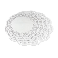 100 pcs Paper doily for item No. 2591