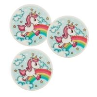 12 pcs Decor plaque unicorn