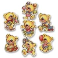 100 pcs Bears, sugar