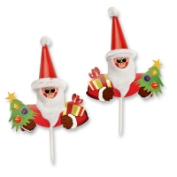 100 pcs Novelty Santa head