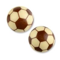 Sphere, white chocolate, football