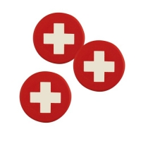 120 pcs Round chococlate plaque  Switzerland