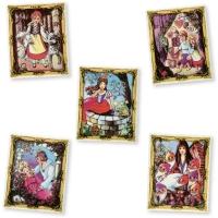 Sugar coating fairytale motifs, assorted