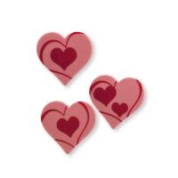 Heart, ruby chocolate, ass.
