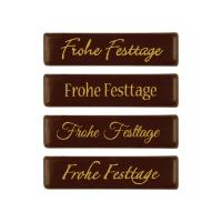 Strip  Frohe Festtage , dark chocolate