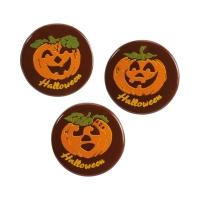 Pumpkins  Halloween , dark chocolate, ass.