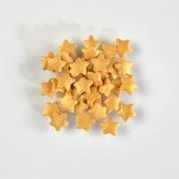 1,4 kg Sugar sprinkles, stars, shimmering gold