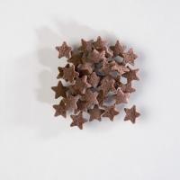 1,4 kg Sugar toppings,  Stars , brown