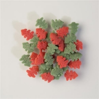 1,5 kg Sugar-toppings  Trees , green & red