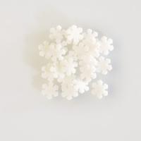 1,3 kg Sugar-toppings  Snowflakes , white
