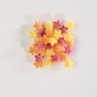 1,4 kg Sugar Sprinkles, stars, colored in plastic bucket