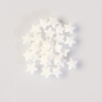 1,5 kg Star topping in white