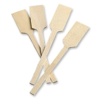 100 pcs Mini wooden spatulas write ons