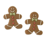 36 pcs Marzipan gingerbread men