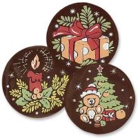 240 pcs Chocolate Christmas decoration