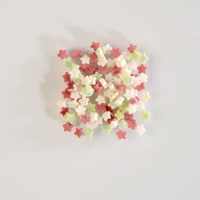 1,5 kg Sugar Sprinkles, stars mini, colored in plastic bucket