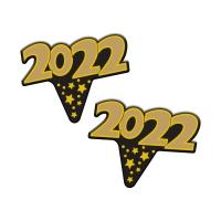 100 pcs Paper Label Year 2021
