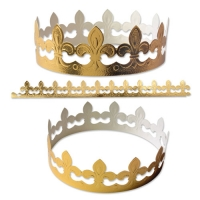 100 pcs Crowns, gold