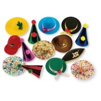 100 pcs Hats, large