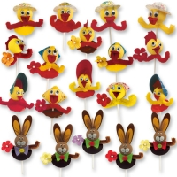 100 pcs Easter novelties on stick