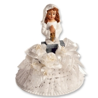 2 pcs Communion girl with top